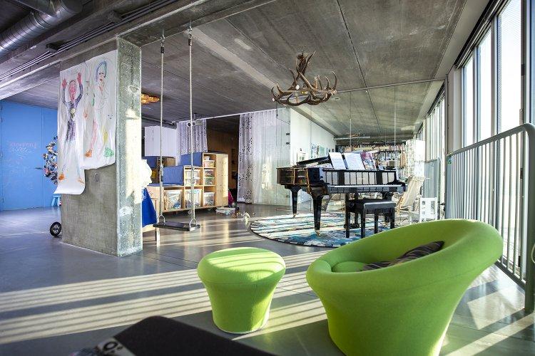Interieur Schiecentrale Lloydkwartier