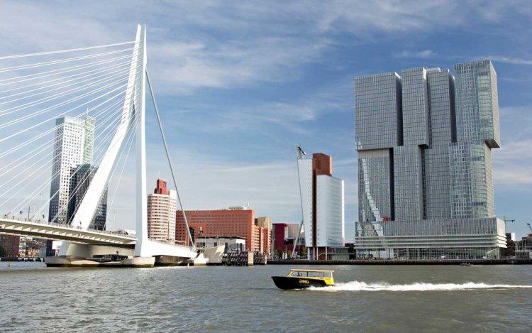 Een blik op het machtige Rotterdam-Zuid