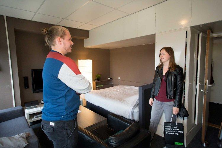 Steeds meer studenten weten de weg naar Rotterdam-Zuid te vinden