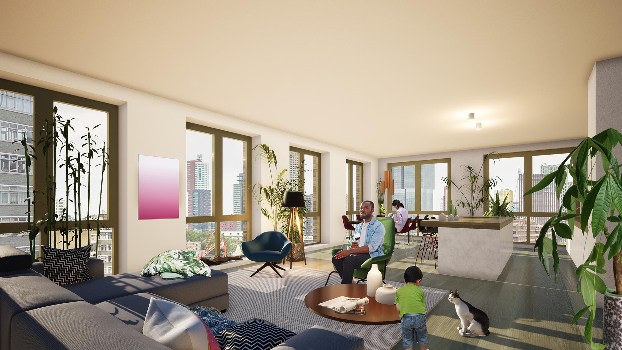 Nieuwbouwproject Overhoeks Rotterdam