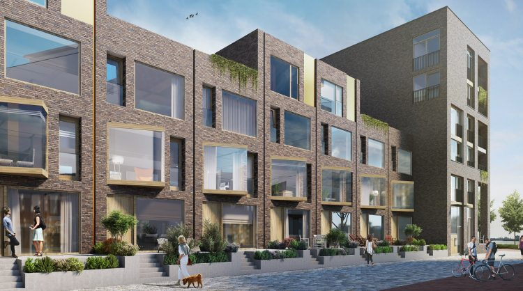 Nieuwbouwproject Eden District Rotterdam