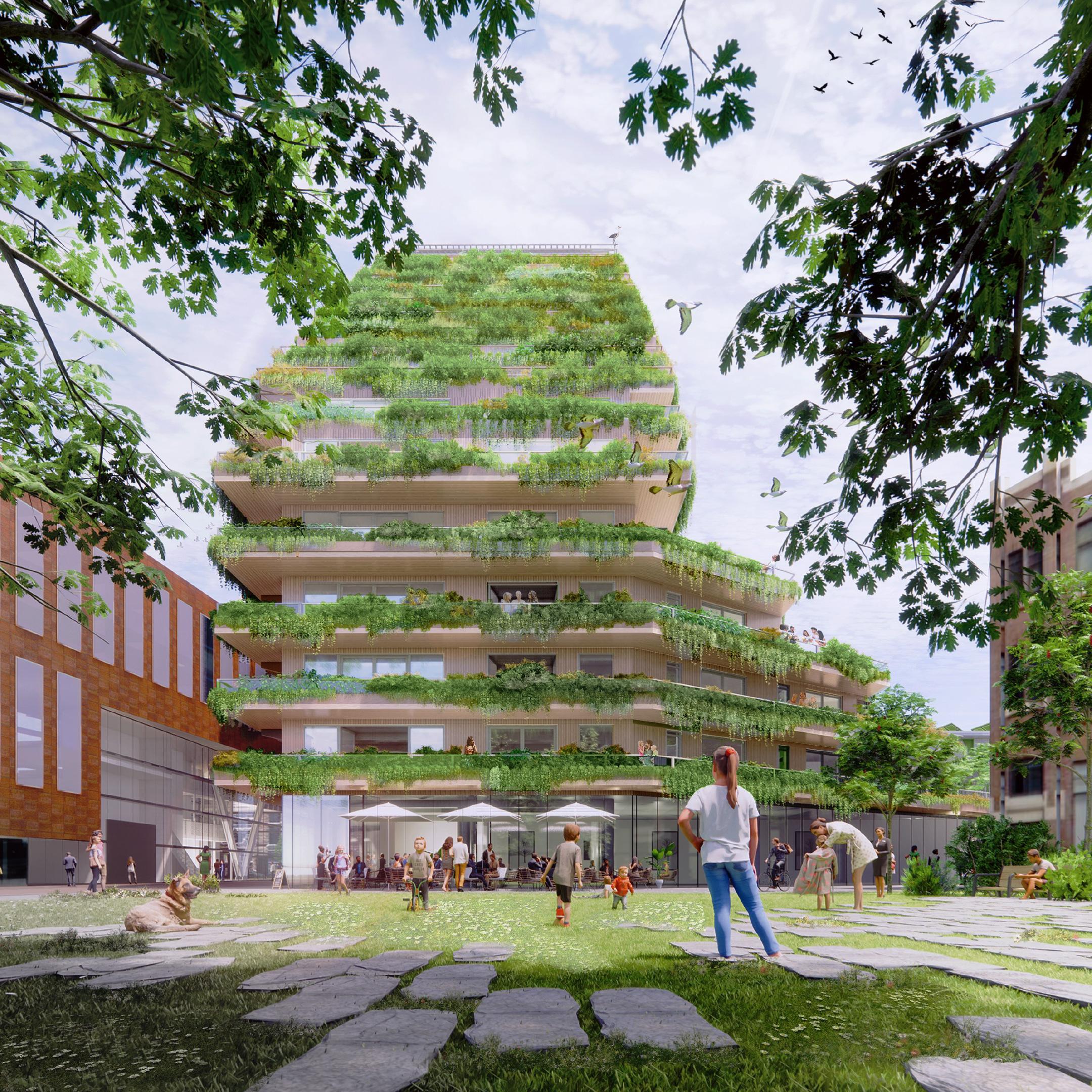 Nieuwbouwproject SAWA Rotterdam